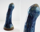 High fire fine art ceramic dildo 1003