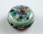 Orgone Energy Orgonite Focal Bead. Arkansas Crystals, too many stones to put in title ... see description (r28)