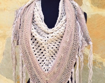 Sandstorm Shawl Knitting Pattern