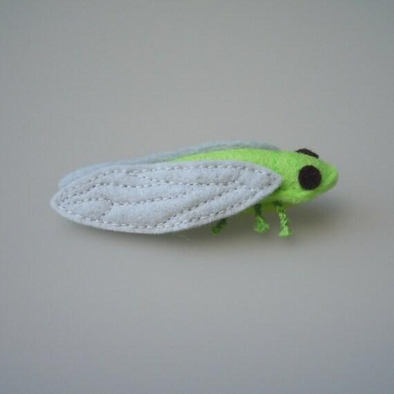Catnip Cat Toy Wool Felt Cicada Bug