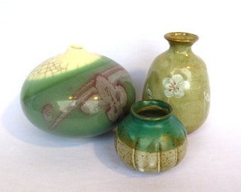 Instant Celadon GREEN POTTERY COLLECTION/ Vintage Pottery