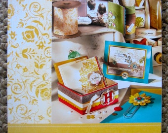 Retired Stampin' Up! idea book & catalog 2009-2010