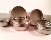 1/2oz (35 count) empty aluminum Tin  (FREE SHIPPING) ETSY