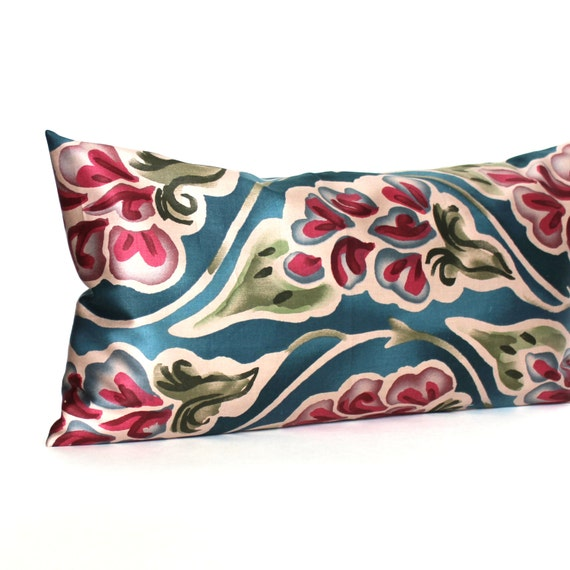 RESERVED FOR KARYN / 10x14 Lumbar Pillow Cover Jewel Tone Decorative Accent Oblong Throw Pillow Cover