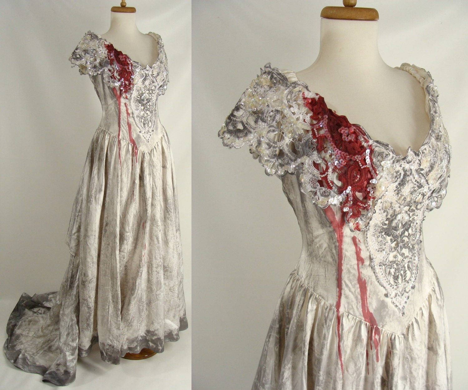 Zombie Wedding Dress For  : Zombie wedding dress costume popular items for on etsy