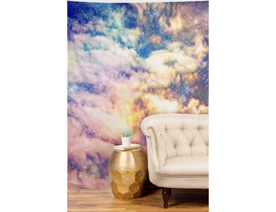 Cosmic Wall Art Wall Tapestry Colorful Home Decor Starry