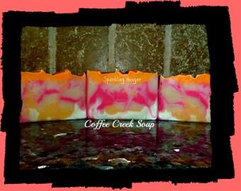 Sparkling Ginger natural soap