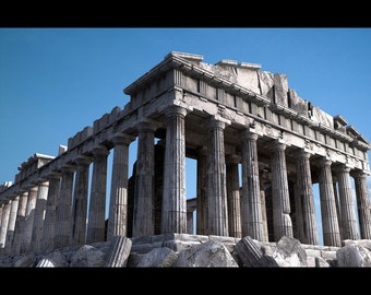 Parthenon Greece | 24 x 36 Inch | Poster