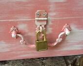 Mini Gold Padlock Trinket Lock Card Wine Letter Box Two Sets Of Keys