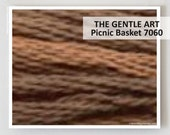 PICNIC BASKET 7060 : Gentle Art GAST hand-dyed embroidery floss cross stitch thread at thecottageneedle.com