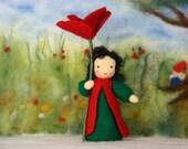 poppy child / flower child / Root children / Waldorf
