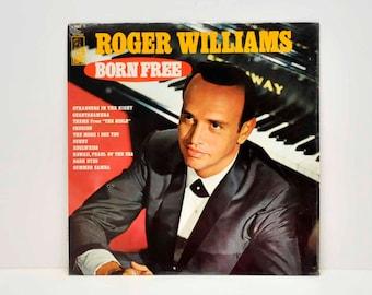 Roger Williams  Born Free -- Record Album --