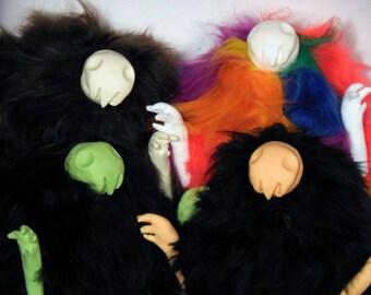Boogins - Creepy Cute Plushie Art Dolls