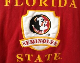 1990's Florida State Seminoles sweatshirt USA XL