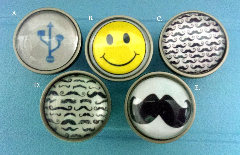fun geek gift knobs bedroom dresser knobs glass nursery ForFun Knobs