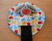 Mini Birds Primary Belly Buckle Cover