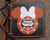 Disney Autograph Book Halloween - Minnie Mouse - Room for Photos