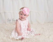 lace dress, pink baby outfit, pink birthday outfit, lace baby outfit, pink infant dress, baby dresses, swing set, shabby chic baby outfit