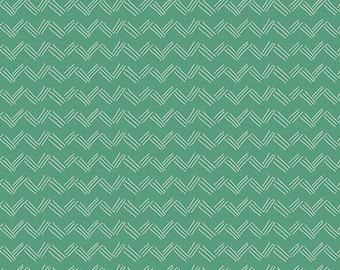 Happy Home Grass in Sunlight, Caroline Hulse, Art Gallery Fabrics, 100% Premium Cotton Fabric, HAH-24401