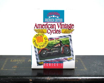 American Vintage Cycles Limited Edition Card Set 100 Cards NOS 1992