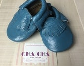 WHOLESALE LOT of 10 pairs 100% genuine leather baby moccasins Mocs moccs tassel