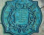 Fine Art Print- Sun Dial, Historic Judson College, Marion Alabama, vintage clock