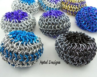 Handmade Chainmail Hackey Sack - Colour Combos unlimited!