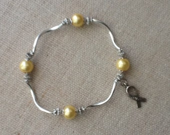 110 Bone/Sarcoma Cancer Awareness Bracelet
