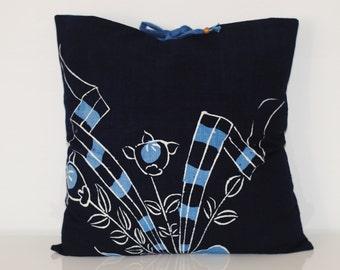 Japanese Indigo Pillow Cover
