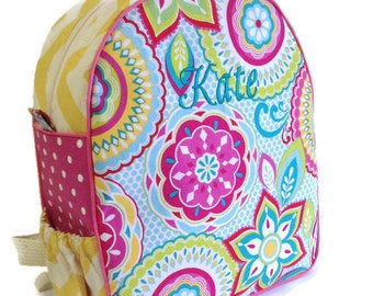 Personalized Toddler Backpack Girl Dinosaur Backpack
