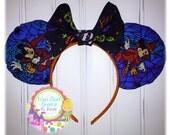 SALE Spooktacular Custom Mickey and MInnie HALLOWEEN Mouse Ears!!
