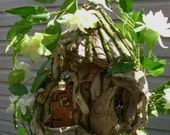 OOAK Driftwood Fairy House 1:12 Scale By J. McLaughlin Great for Realpuki, BJD, etc.
