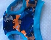 Fox Funderwear - 2T toddler underwear - Kiddie Undies - Midnight