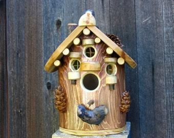 Heart of the Spruce Birdhouse #2