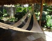 Hammocks! Adult sized cotton hand woven hammock from Guatemala.  Mayan made banana hammocks 7