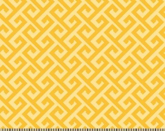 06329 -  Springs Creative Products Quilting Basics Greek Key in Golden color - 1 yard