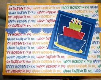 Bright Birthday Card  20150124