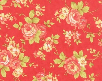 Farmhouse - Tomato Rose Red by Fig Tree Quilts from Moda