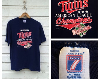 1987 Minnesota Twins t-shirt, fits like a large