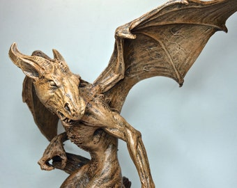 The Jersey Devil Statue