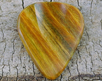 Lignum Vitae - Verawood - Wooden Guitar Pick - Wood Guitar Pick - Wood Plectrum - Exotic Wood - Wood Gift