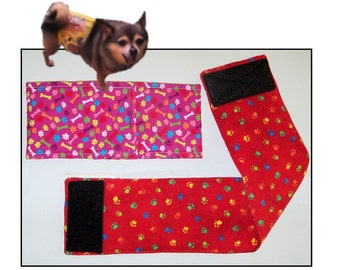 Custom Belly Bands for Male Dogs, Incontence, Male Dog Diaper