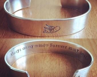 Angel baby... cuff bracelet...