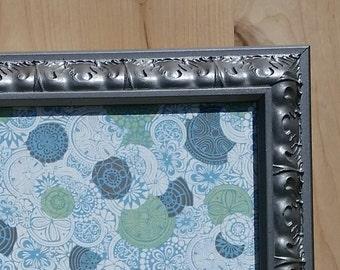 fabric magnet board 19.5 x 23 inch