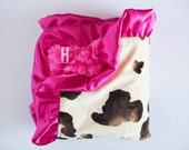 Callie MINKY BLANKET available in 5 Sizes