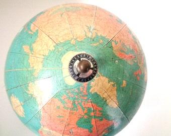 Replogle Standard Globe 8 Inch Pre WWII Rare 1930s