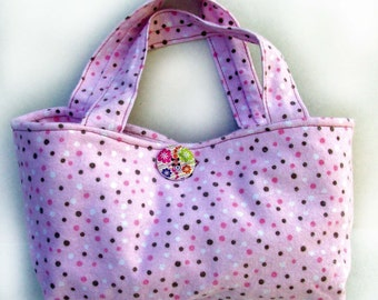 Utility Bag Pink Flannel
