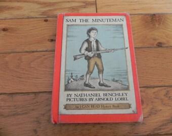 Sam the Minuteman - Vintage Book - 1969
