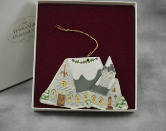 Tewksbury Ornament 1991