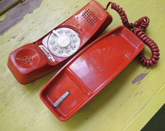Phone, Swingline Phone, Rotary Phone, GTE Phone, Telephone, Vintage Phone, Dial Phone, Old Phone, Home Decor, Prop